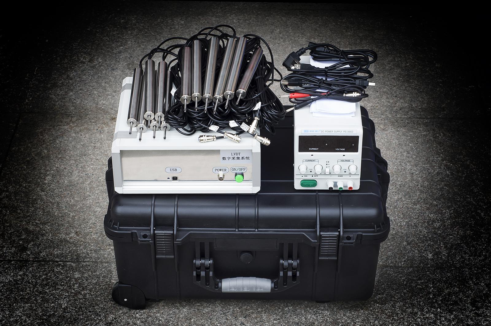 位移数据采集系统应用:地铁屏蔽门载荷变形量测量系统